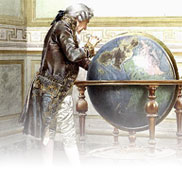 Studying the Globe by Giuseppe Signorini
